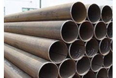 Hot expanding steel pipe