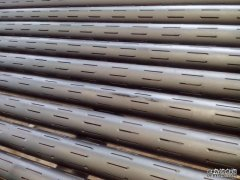 Laser slotted Screen pipe Technical parameters--processing performance purpose