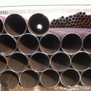 Large diameter thick-walled straight seam steel pipe